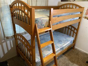 Bunk Bed Wooden for Sale in Bakersfield, CA