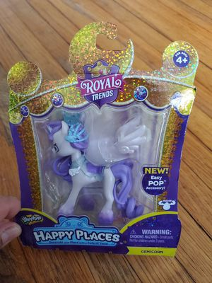 Shopkins Royal Trends Happy Places Gemicorn for Sale in Pasadena, TX