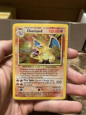 Pokemon Charizard Base Set for Sale in Farmington, CT