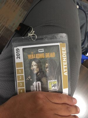 San Diego Comic Con pass for Sale in Fontana, CA