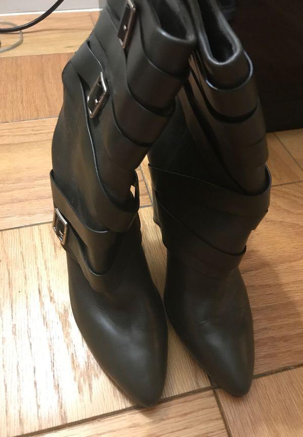 Calvin Klein Zelda Boots - Size 10