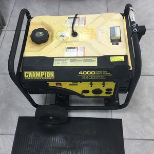 Champion Generator for Sale in Okeechobee, FL