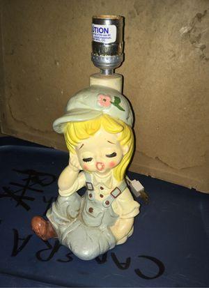 Vintage ceramic lamp for Sale in San Antonio, TX