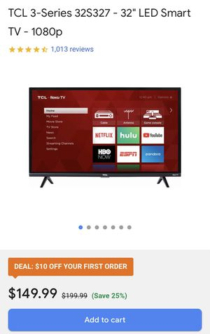 "TCL 32"" ROKU TV for Sale in Bakersfield, CA"