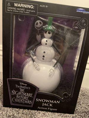 Disney's nightmare Before Christmas snowman Jack action figure for Sale in Santa Fe Springs, CA