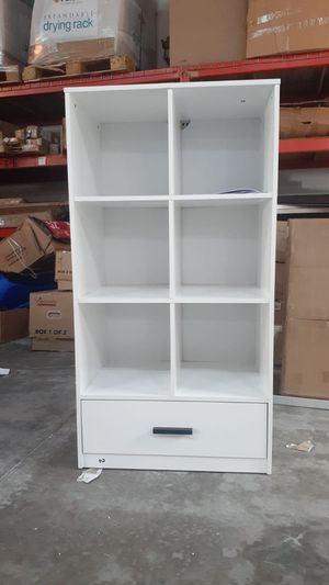 6 Cube Storage Organizer with 1 Drawer for Sale in Houston, TX