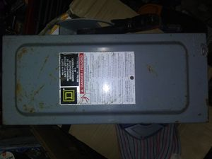 Square D disconnect heavy duty 60amp for Sale in Scott Depot, WV