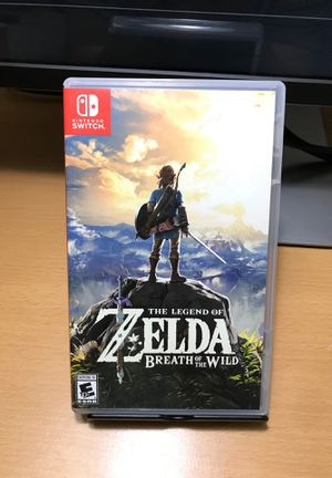 The Legend of Zelda : Breath of the Wild for Sale in San Diego, CA