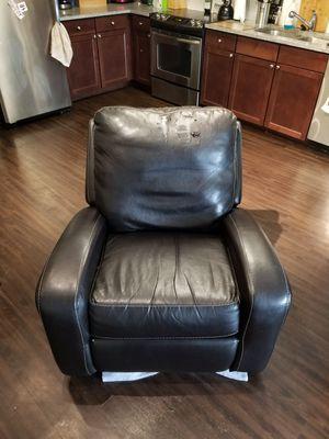 Leather recliner for Sale in Denver, CO