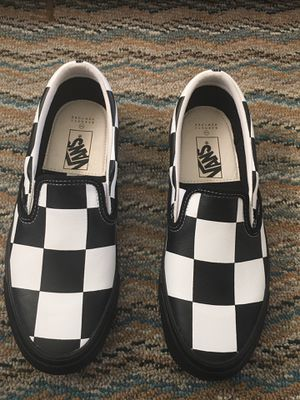 Barney's New York Checkered Vans for Sale in Allentown, PA