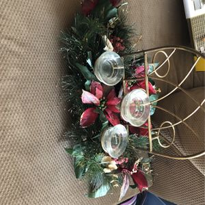 Festive Holiday Decor Candle Holder for Sale in Long Beach, CA