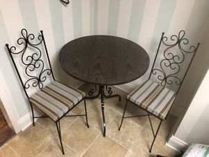 Table two chairs for Sale in Silver Spring, MD