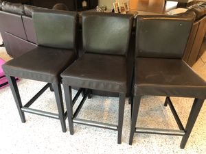 Leather Bar Chairs for Sale in South Miami, FL