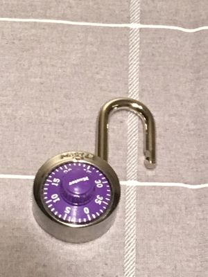 Purple Master Combination Lock for Sale in Herndon, VA