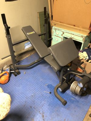 Olympic Bench Press for Sale in Chico, CA