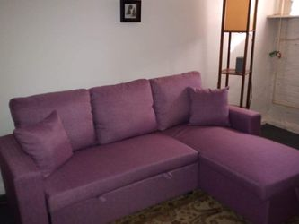 Mauve Sleeper Sectional Sofa *BRAND NEW* for Sale in Columbia,  MD