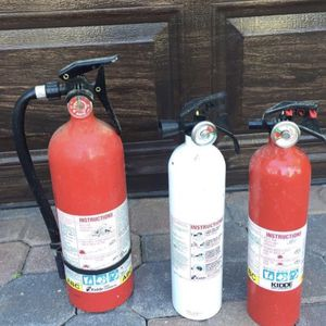 All 3 Fire Extinguishers $40 OBO for Sale in West Palm Beach, FL