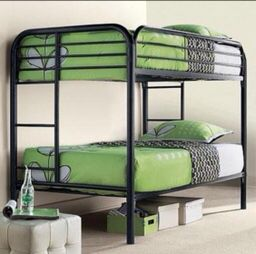 NEW BUNK BED TWIN OVER TWIN WITH NEW MATTRESS INCLUDED for Sale in Miami, FL