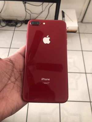 iPhone 8 Plus unlocked Red for Sale in El Paso, TX