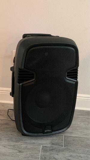 15' ignite wireless speaker for Sale in Orlando, FL
