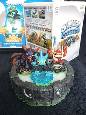 Nintendo Wii / Wii U Skylanders video game and figures for Sale in San Diego, CA