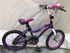Monster high skull polkadot plaid bike pink purple white for Sale in Savannah, GA