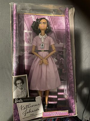 Barbie Signature Katherine Johnson Collector's Item for Sale in Columbus, OH