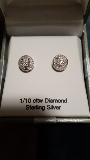Sterling silver with 1/10 cttw Diamond for Sale in Spokane, WA