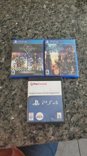 Kingdom Hearts full collection for Sale in Queen Creek, AZ