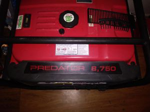 Generator like new unly been use for 2 hours electric start for Sale in San Antonio, TX