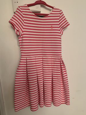 Polo Pink Striped dress size 6x for Sale in Beverly, MA