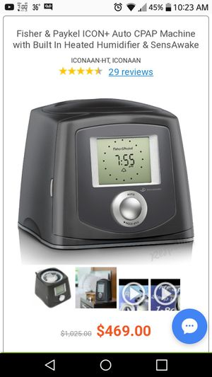 Fisher&Paykel cpap machine for Sale in Rockwall, TX