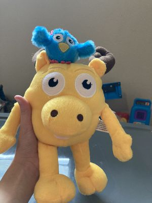 Moose and Zee stuffed animal! Like new, Aprox 11 inches tall for Sale in Clermont, FL