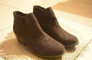 Unidnbay/ brown heel boots for Sale in Tampa, FL
