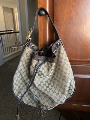 Gucci brown monogram leather hobo bag for Sale in San Diego, CA