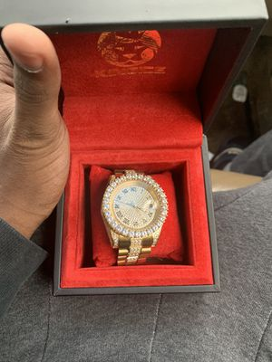 KingIce 14k Gold watch for Sale in Columbus, OH