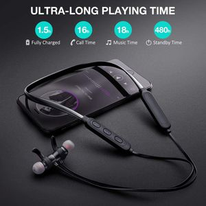 Bluetooth Wireless Earphones Sports Headphone,18 Hours Playtime, HiFi Sound, IPX6 Waterproof for Sale in West Covina, CA