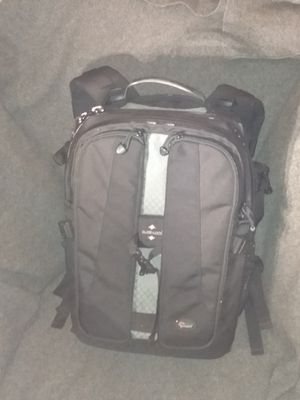 Lowepro vertex 200 aw professional camera backpack dslr for Sale in Tacoma, WA