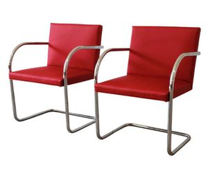 Classic Knoll Brno Tubular chAirs in all colors as shown! $200 each for Sale in Houston, TX