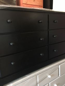 6 Drawers Chest Dresser Any Colors New Solid Wood for Sale in Long Beach,  CA