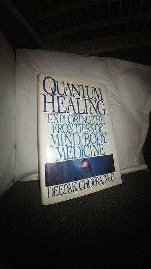 Quantum Healing Exploring the Frontiers of Mind/Body Medicine by Deepak Chopra, M.D. for Sale in La Habra Heights, CA