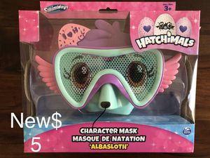 New! swimways hatchimals character mask albasloth $5 for Sale in Berkeley, CA