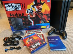 PS4 PRO RED DEAD BUNDLE for Sale in Robstown, TX