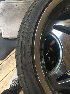 3 Wheels Rims and Tires 20 inch really good condition for Sale in Portland, OR