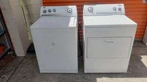 Whirlpool washer and dryer working great delivery available for Sale in FL, US