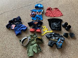 Build a bear outfits $8.00 each set for Sale in Land O Lakes, FL