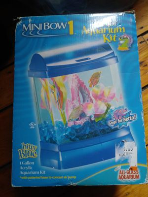 Glass fish tank for Sale in Cranston, RI