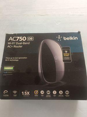 Belkin AC750 wifi router for Sale in Spring Hill, FL