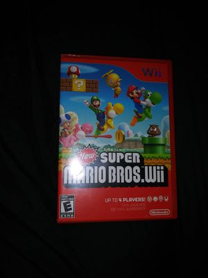 New Super Mario Bros Wii game for Sale in Metter, GA