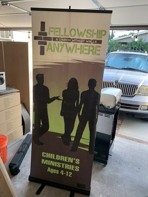 Portable banner displays for Sale in Fountain Valley, CA